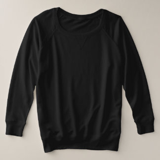 Women's Plus-Size French Terry Long 4 colour Plus Size Sweatshirt