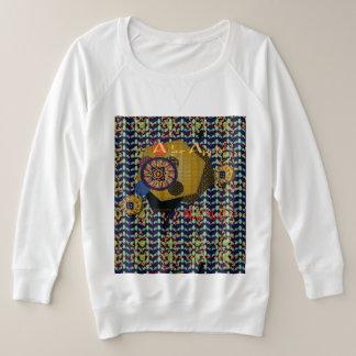Women's Plus-sized French Terry Sweatshirt