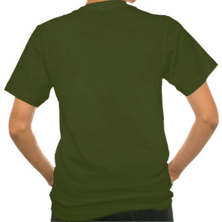 Women's pocket T-shirt with pumpkins and leaves