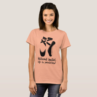Women's Pointe Ballet T-Shirt