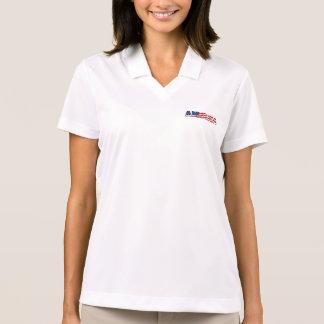 Women's Polo Shirt-America