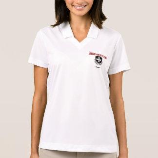 Women's Polo Shirt with Borinqueneers Logo & Name