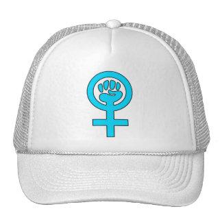 Women's Power Feminist Symbol Trucker Hat