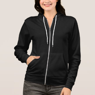 WOMENS PROBABLE CAUSE ZIPPER HOODIE BACK TEXT