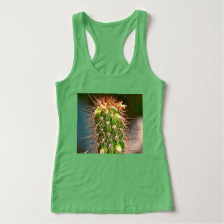 """Women's Racerback Tank Top """"Spiny Cactus"""""""