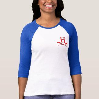 Women's Raglan Blue/White Heights Regatta T-Shirt