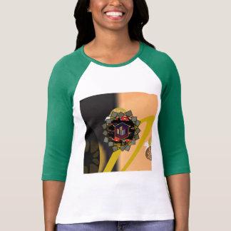 Women's Raglan Three-quarter Sleeve T-shirt