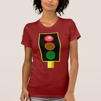 Womens Red Traffic Light Shirt