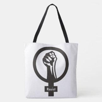 Women's Resist Large Tote Bag