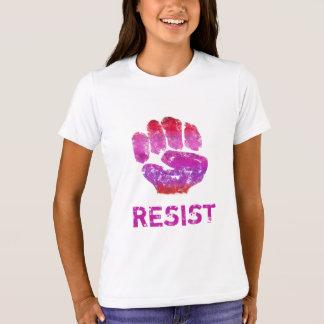 Women's Resistance Doodle Art Fist Tee