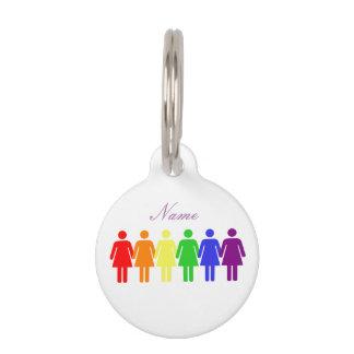 women's rights 2017 LGBTQIA Thunder_Cove Pet Name Tag