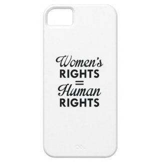 Women's Rights Are Human Rights iPhone 5 Cases