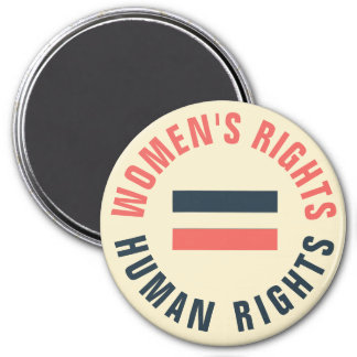 Women's Rights Equal Human Rights Feminist Magnet