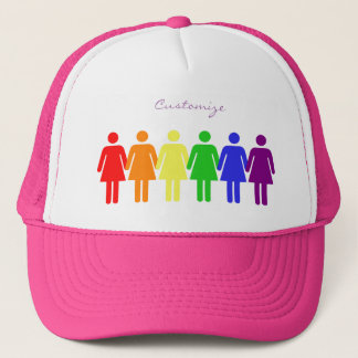 women's rights LGBTQIA Thunder_Cove any color Trucker Hat