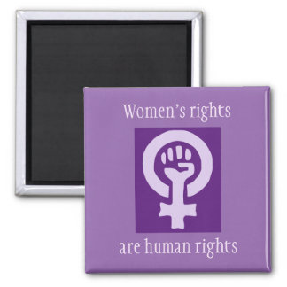 Women's rights magnet