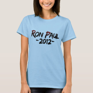 Women's Ron Paul 2012 Shirt