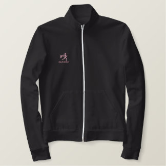 """Womens Running """"Going the distance!"""" Embroidered Jackets"""