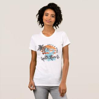 Women's Sand&Sun Co. 'Life's a beach' surf jersey T-Shirt