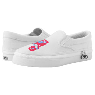 Women's Scooter Custom Zipz Slip On Shoes