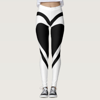 Women's Sexy Heart Leggings
