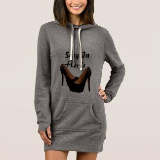 Womens Sexy In Heels Sweater Dress
