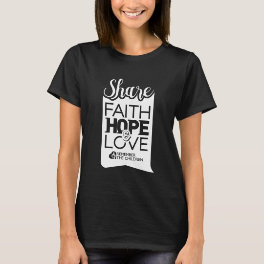 Womens Share Tee (black)