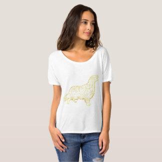 Women's Slouchy Boyfriend T-Shirt Golden retriever