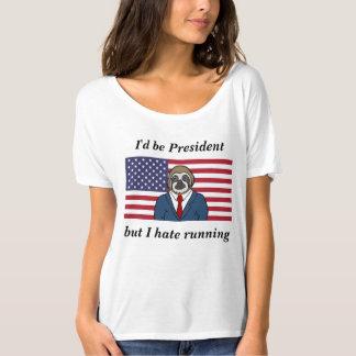 Womens slouchy motto t-shirt