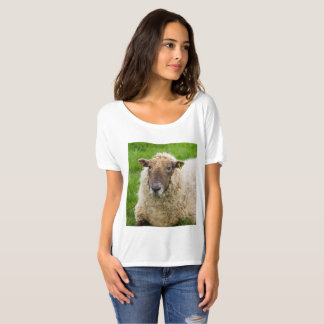 Women's SlouchyT-Shirt with sheep design T-Shirt