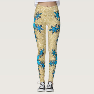 Women's Snowflake Leggings