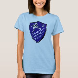Women's soccer team T-shirt