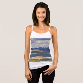 "Women's Spaghetti Strap Tank Top ""Lake Pleasant"""