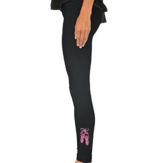 Women's Spandex-Cotton Dance Leggings