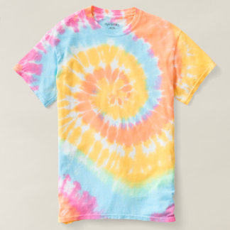 Women's Spiral Tie-Dye T-Shirt 2 colour styles