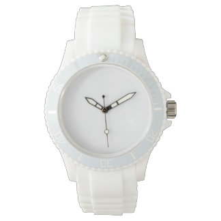 Women's Sport White Silicon Watch
