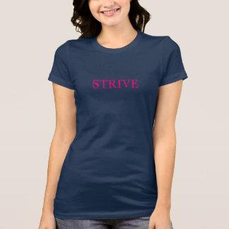 "Women's ""STRIVE"" Short Sleeved Casual T-Shirt"