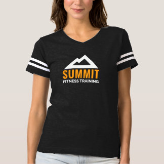 Women's Summit Fitness Training T-shirt Striped