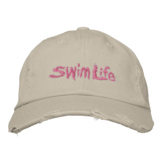 Women's Swim Life Custom Baseball Cap