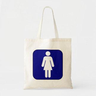Womens Symbol Budget Tote Bag