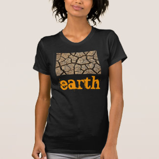 women's t-shirt advertising our earth