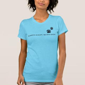 Women's T-shirt..ALWAYS ADOPT, NEVER SHOP! T-Shirt