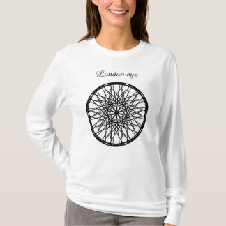 Women's , T-Shirt london eye .
