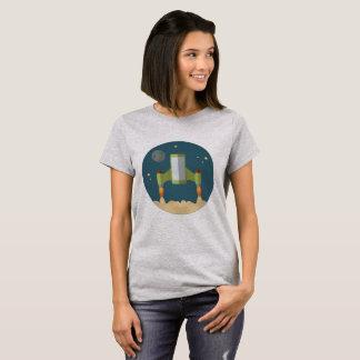 Women's t-shirt w/ Rocket ship logo