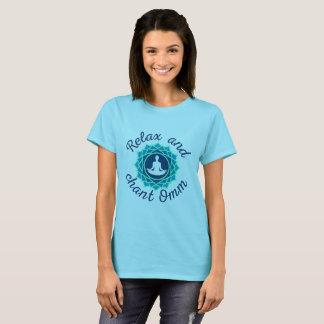 Women's T-Shirt with Azure Mandala