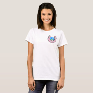 Womens T-Shirt with DaybyDayVlogs Logo Crest