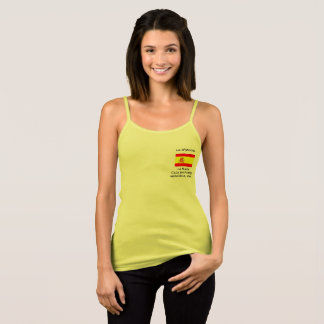 Women's T-Shirt with Spanish flag.