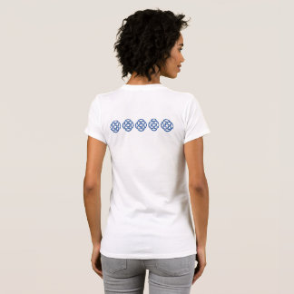 Women's t-shirt with TCSPP knots