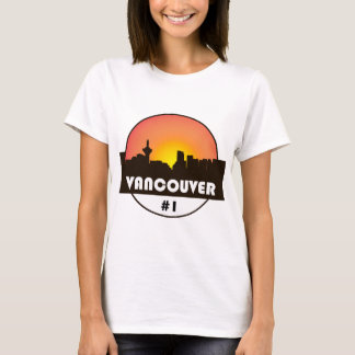 Women's t-shirt with @Vancouver_Canada logo print
