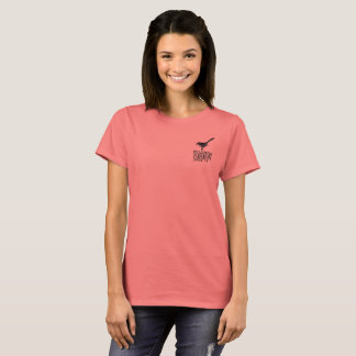 Women's T-Shirt with Vintage Logo