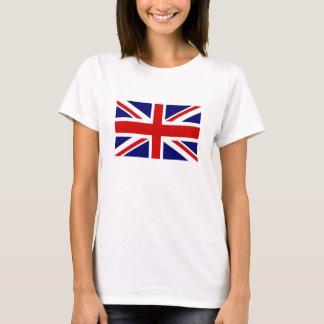 Women's T Shirts with British Union Jack flag